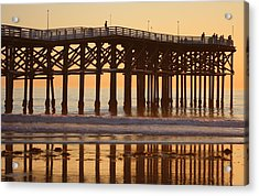 Acrylic Print featuring the photograph Crystal Pier by Nathan Rupert