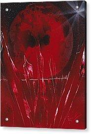 Crystal Planet Acrylic Print