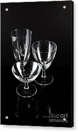 Crystal Reflection Acrylic Print