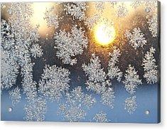 Crystal Sunrise Acrylic Print