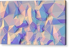 Crystal Triangle Acrylic Print