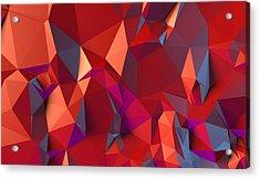 Crystal Volcanic Acrylic Print