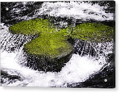 Crystal Water  Acrylic Print by Sotiris Filippou