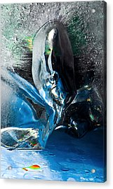 Crystalline Acrylic Print by Petros Yiannakas