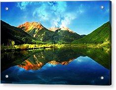 Crytsal Reflections Acrylic Print by Cheryl Cencich