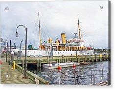 Css Acadia Acrylic Print by Betsy Knapp