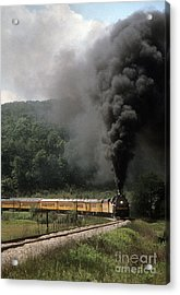 Chessie Steam Special At Lineboro Md Acrylic Print by ELDavis Photography