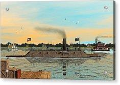 Css Virginia Acrylic Print by Walter Colvin