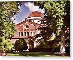 Csu Chico Acrylic Print