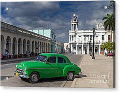 Acrylic Print featuring the photograph Cuba Green  by Juergen Klust