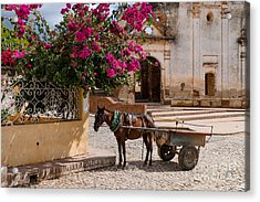 Acrylic Print featuring the photograph Cuba Impression by Juergen Klust