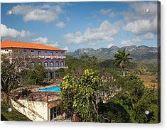Cuba, Pinar Del Rio Province, Vinales Acrylic Print by Walter Bibikow