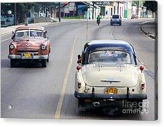 Cuba Road Acrylic Print