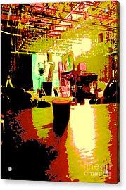 Cuban Coffee On Stage Acrylic Print