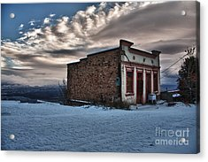Cuban Queen Bordello In Jerome Arizona Acrylic Print