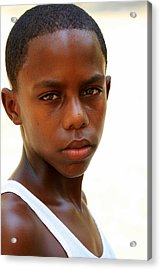 Cuban Youngster Acrylic Print by Arie Arik Chen