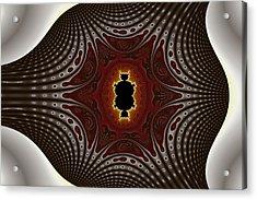Cubic Holiday Acrylic Print by Mark Eggleston