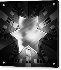 Cubic Star Acrylic Print