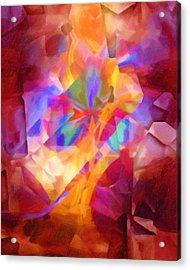 Cubicscape Artisan Acrylic Print by Lutz Baar