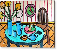 Cubist Lunch Acrylic Print