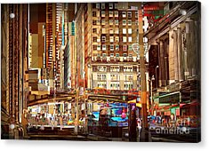 Grand Central And 42nd St Acrylic Print by Miriam Danar