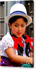 Cuenca Kids 231 Acrylic Print