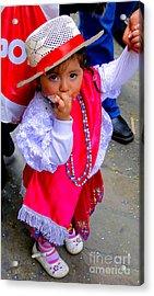 Cuenca Kids 242 Acrylic Print