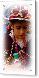 Cuenca Kids 244 Acrylic Print by Al Bourassa