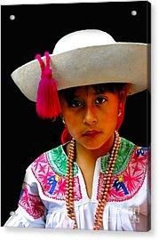 Cuenca Kids 310 Acrylic Print