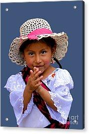 Cuenca Kids 318 Acrylic Print