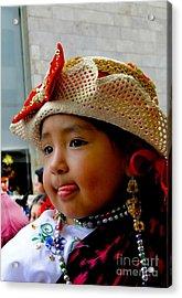 Cuenca Kids 342 Acrylic Print