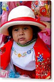 Cuenca Kids 369 Acrylic Print
