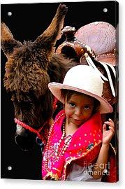Cuenca Kids 375 Acrylic Print