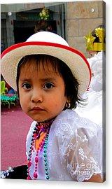 Cuenca Kids 376 Acrylic Print