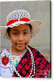 Cuenca Kids 384 Acrylic Print