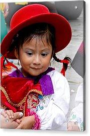 Cuenca Kids 403 Acrylic Print