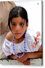 Cuenca Kids 448 Acrylic Print