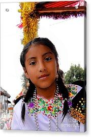 Cuenca Kids 463 Acrylic Print