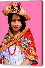 Cuenca Kids 494 Acrylic Print