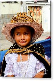 Cuenca Kids 498 Acrylic Print