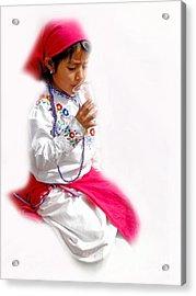 Cuenca Kids 507 Acrylic Print