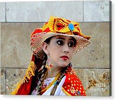 Cuenca Kids 562 Acrylic Print by Al Bourassa