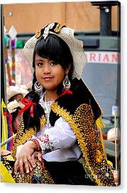 Cuenca Kids 583 Acrylic Print