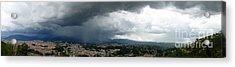 Cuenca Storm Panorama Acrylic Print by Al Bourassa