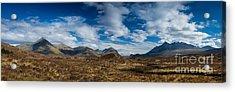 Cuillin Panorama Acrylic Print by Maciej Markiewicz