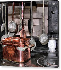 Cuisine At Chenonceau #2 Acrylic Print