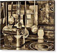 Cuisine At Chenonceau Acrylic Print