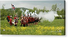 Acrylic Print featuring the photograph Culloden Loyalists by Carol Lynn Coronios