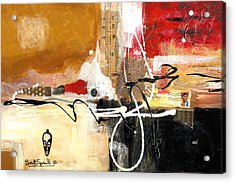 Cultural Abstractions - Hattie Mcdaniels Acrylic Print by Everett Spruill