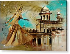 Cultural Dancer Acrylic Print by Catf